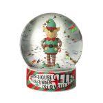 globo de neve snowglobe rena rodolfo pai natal natal boneco de neve elfo de natal