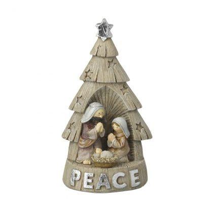 presépio original colecção sagrada família raposa neve urso polar pai natal pinguim gato boneco de neve