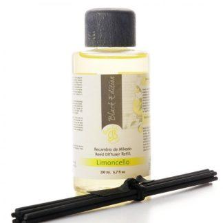 óleo difusor aromatizador aroma casa boles d'olor mikado black edition limão limonada limoncello