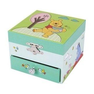 caixa de música bailarina winnie the pooh