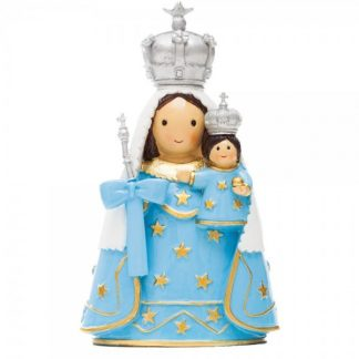 nossa senhora monte sião anjo santo religião religion cute fofo comunhão batizado baptizado figura religiosa anjinho guarda menina menino baptismo