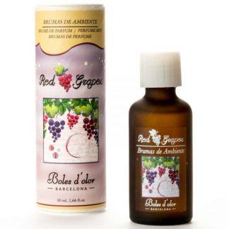 óleo difusor aromatizador aroma casa red grapes uvas vermelhas