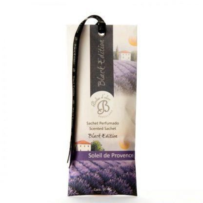 sachet saqueta black edition soliel de provence lavanda