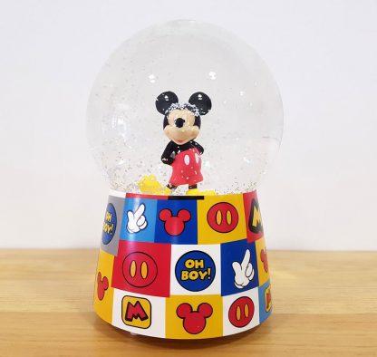 caixa de música caixa de bailarina globo de neve minnie mickey