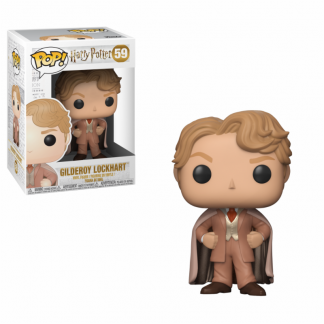 harry potter gilderoy funko pop colecção