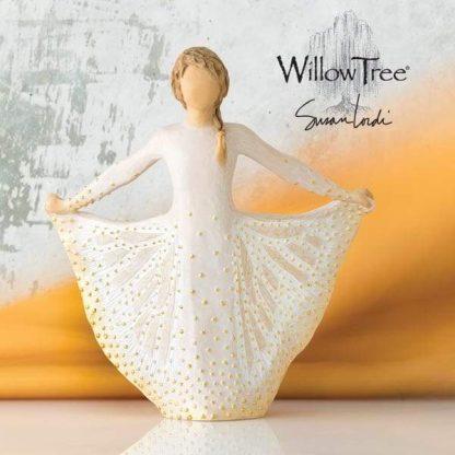 butterfly figura estátua família anjo peça decoraçao casa significado amizade amor felicidade willow tree desejo aniversário presente