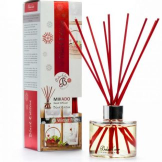 BOLES D'OLOR DIFUSOR AROMAS MIKADO BLACK EDITION WINTER FRUITS FRUTOS DE INVERNO