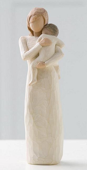 susan lordi figura estátua família anjo peça decoraçao casa significado amizade amor felicidade willow tree desejo aniversário presente mãe criança do meu coração
