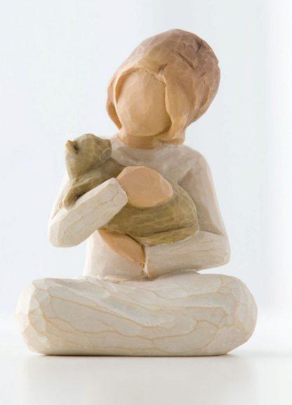 susan lordi figura estátua família anjo peça decoraçao casa significado amizade amor felicidade willow tree desejo aniversário presente gato