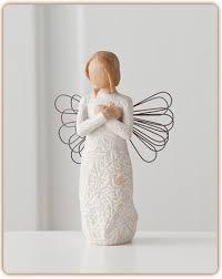 susan lordi figura estátua família anjo peça decoraçao casa significado amizade amor felicidade willow tree desejo aniversário presente recordações saudade