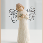 susan lordi figura estátua família anjo peça decoraçao casa significado amizade amor felicidade willow tree desejo aniversário presente sursan lordi cura
