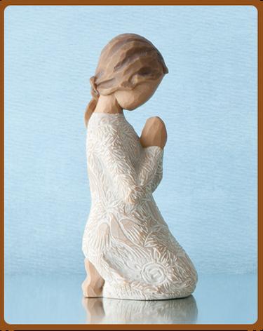 susan lordi figura estátua família anjo peça decoraçao casa significado amizade amor felicidade willow tree desejo aniversário presente oração paz