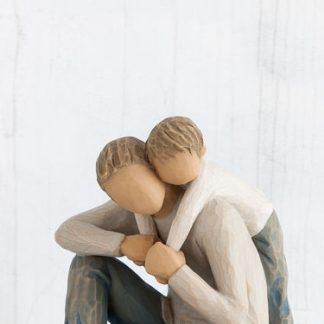 figura estátua família anjo peça decoraçao casa significado amizade amor felicidade willow tree desejo aniversário presente pai
