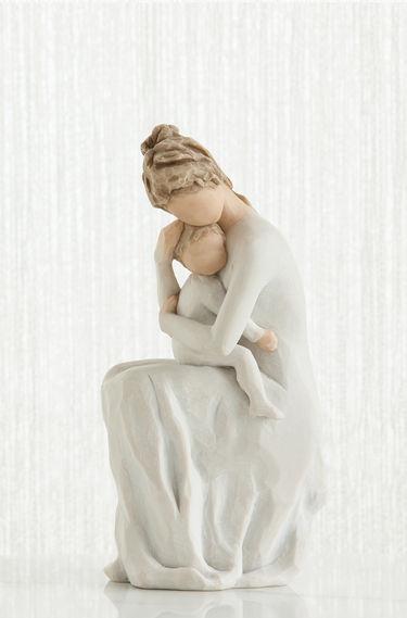figura estátua família anjo peça decoraçao casa significado amizade amor felicidade willow tree desejo aniversário presente mãe para sempre