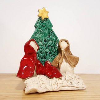 rita macedo ceramista cerâmica presépio colecção natal