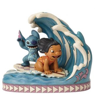 lilo and stitch onda disney traditions jim shore