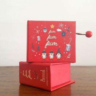 musica natal christmas caixa musica realejo
