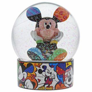 romero britto disney mickey globo de neve snowglobe