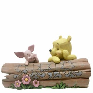 disney traditions jim shore winnie the pooh piglet tronco eeyore