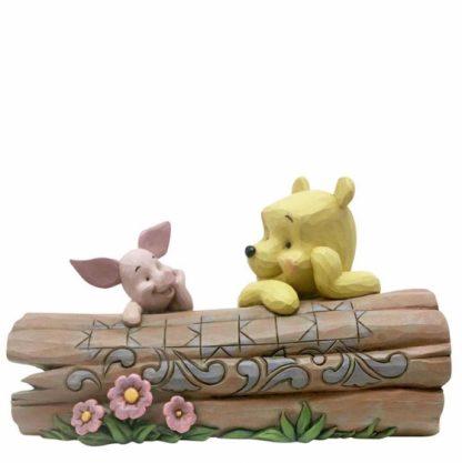 disney traditions jim shore winnie the pooh piglet tronco eeyore