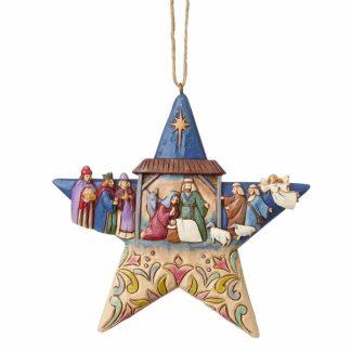 jim shore heartwood creek presépio estrela natal natividade colecção