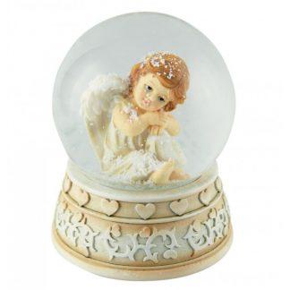 54031 ave maria schubert globo de neve anjo