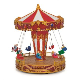 carrossel musical caixa de música natal