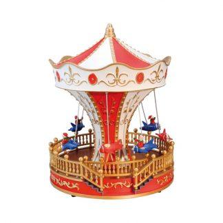 caixa de música carrossel pai natal feira circo globo de neve natal roda gigante feira montra natal viana do castelo portugal caixas de música