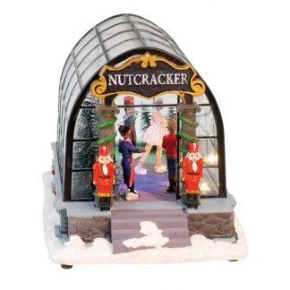 caixa de música carrossel pai natal feira circo globo de neve natal roda gigante feira montra natal viana do castelo portugal caixas de música quebra-nozes bailado