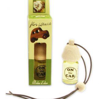 boles d'olor aromatizador aroma para carro on the car flor branca jasmim branco óleo para difusor aromaterapia