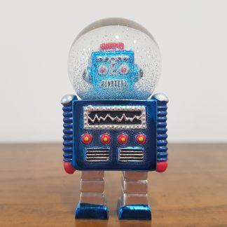 globo de neve robot