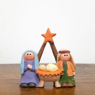 presépio sagrada família a star is born natal jesus maria josé