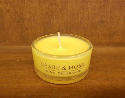 heart and home vela de soja natal cheirinhos casa velas saudáveis queima limpa