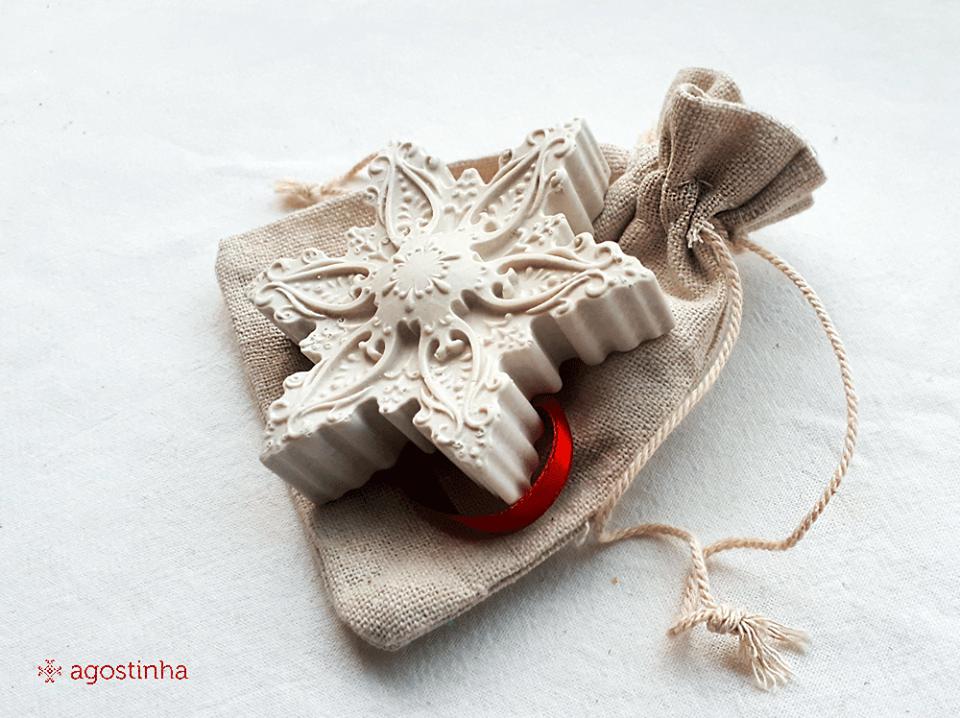 gesso perfumado agostinha coração de viana filigrana artesanato