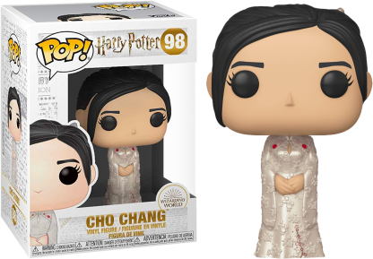 cho chang funko pop harry potter yule