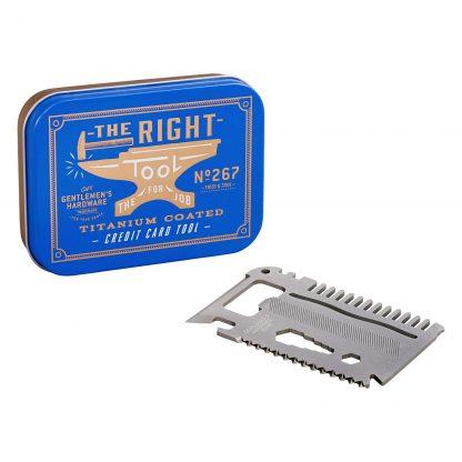 gentlemen's hardware ferramentas gadgets homem ideias presente homem pai irmão tio padrinho dia do pai senhor ferramenta cartão crédito aço