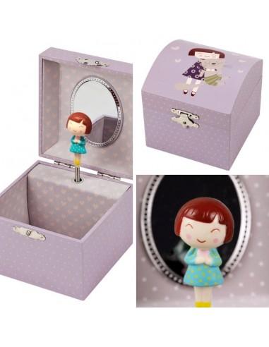 caixa de música boite a musique caixinha de bailarina princesa bailarina fada gato