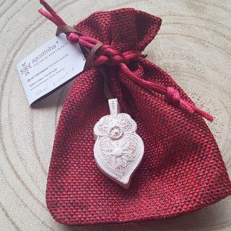 gesso perfumado agostinha coração de viana edição de natal maçã e canela
