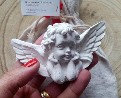 agostinha gesso perfumado anjo da guarda anjinho