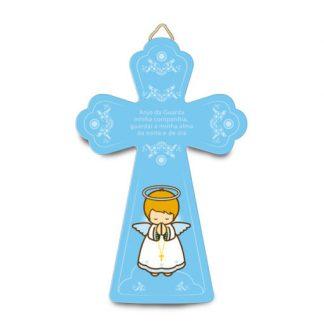 cruz anjo da guarda menino little drops of water