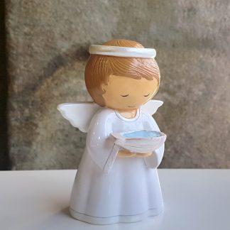 anjo baptismo baptizado concha little drops of water topo de bolo