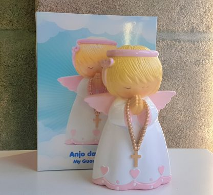 mealheiro católico anjo da guarda peteiro terço fé profissão baptismo baptizado bebé