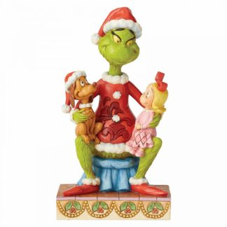 jim shore natal grinch max cindy lou