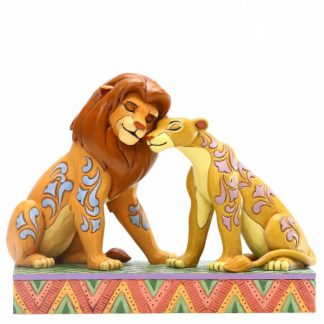 jim shore disney traditions simba nala savana the lion king o rei leão