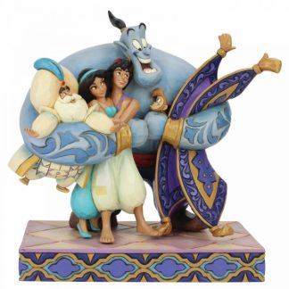 aladino alladin disney tradition jim shore génio yasmin jasmine