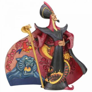 vilão jafar alladin aladino disney traditions jim shore
