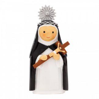 santa joana figura religiosa little drops of water