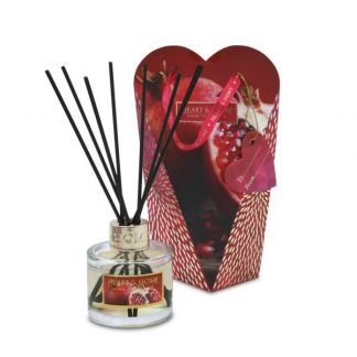 difusor mikado heart and home romã rubi