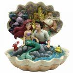 concha ariel a pequena sereia the little mermaid jim shore disney traditions