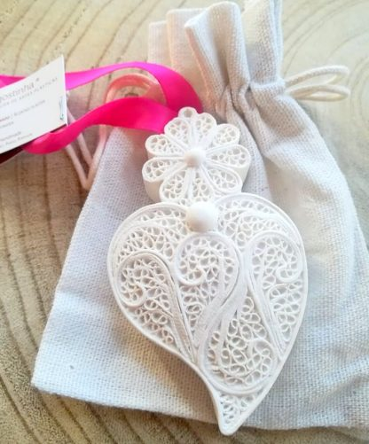 agostinha gesso perfumado pó de talco artesanato coração de viana dia dos namorados
